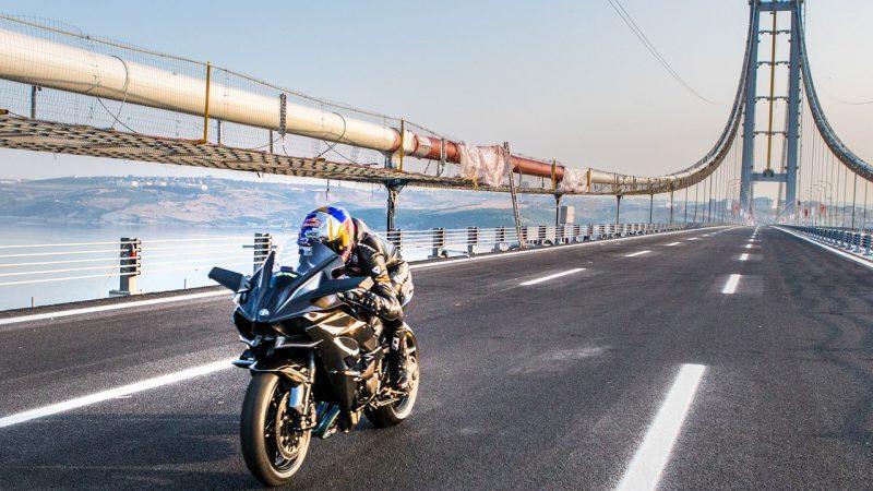 Recorde da Kawasaki Ninja H2R